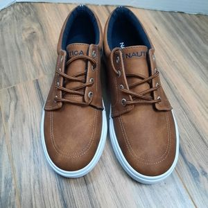 NAUTICA Berrian Youth brown casual sneakers Size 3